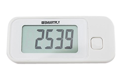 V1RRN7 SMARTFLY 3D Pedometer With Loss Prevention Strap