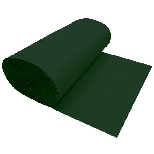 Viscose Felt Dark Green 72 Inches Wide X 1 Yard Long front-859843