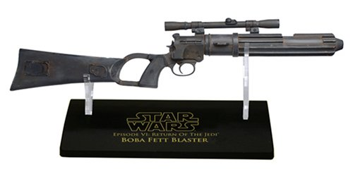 Star Wars Master Replicas .33 Scaled Replica Boba Fett Blaster