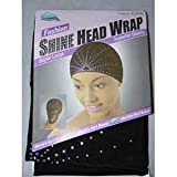 Dream Fashion Head Wrap Black #06001 (Pack of 24)