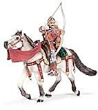 Schleich Fleur De Lis Coat of Arms Archer on Horseback