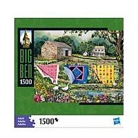 Cheap MILTON BRADLEY Big Ben 1500 Piece Puzzle Drying Towels (B004SHUIVW)
