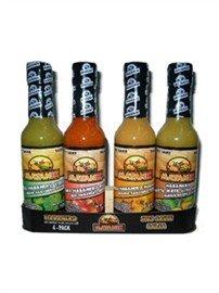 Mayanik 4 Habanero Hot Sauce Gift Pack by Mayanik