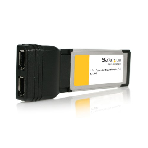 StarTech.com 2 Refuge ExpressCard Laptop 1394a Firewire Adapter Be honest (EC13942)