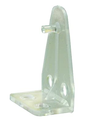 JR Products 81635 Post-Style Mini Blind Hold-Down, (Pack of 2)