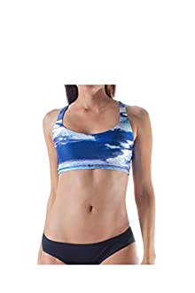 WITH Women's Sports Bra Clouds