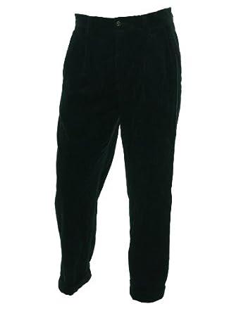 Polo Ralph Lauren Men's the Preston Pant Corduroy Pants (32x32, Black)