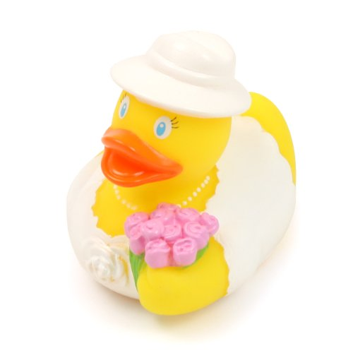 Lilalu Bride Mini Rubber Duck Bath Toy