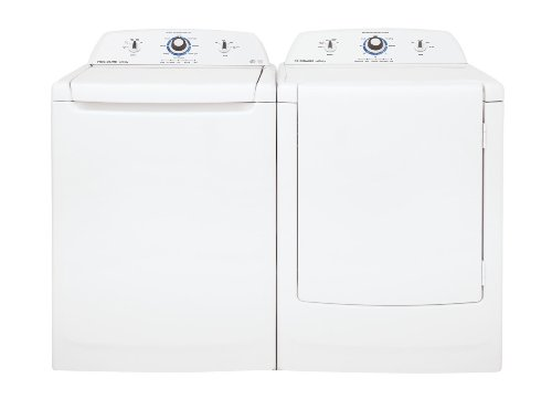 Frigidaire Laundry Bundle | Frigidaire Fahe1011Mw Top-Load Washer & Frigidaire Fare1011Mw Electric Dryer - White