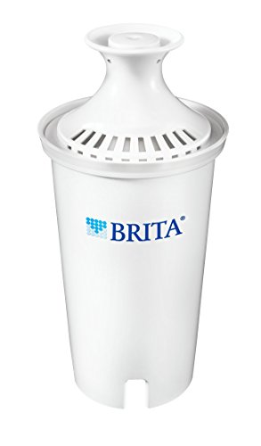 Brita Advanced Replacement Water Filter for Pitchers, 1 Count (Packaging May Vary)