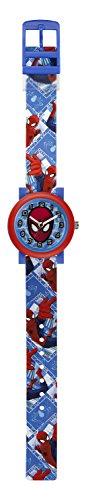 spiderman-enfant-quartz-analogique-affichage-cadran-bleu-bleu-plastique
