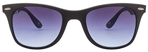 Vincent Chase VC 5189 Matte Black Blue Gradient C9 Wayfarer Light-Weight Sunglasses (103775)