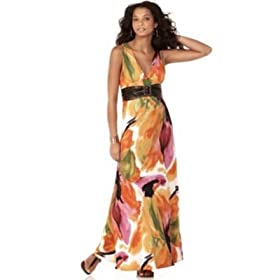 XOXO Maxi Dress with Belt