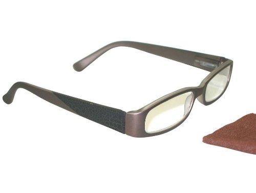 Reading Glasses - Dale Bronze - Clere Vision (+1.50)