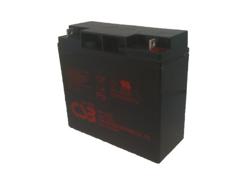 CSB GP12170 (12 Volt/17 Amp Hour) Sealed Lead Acid Battery – Nut-Bolt Terminal – VRLA (AGM) Technology