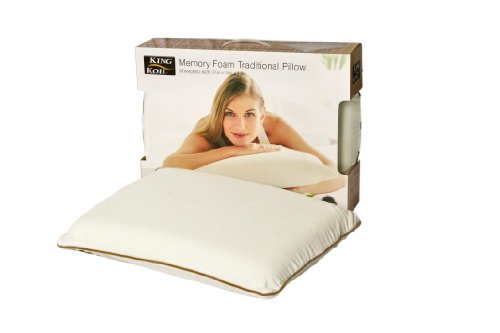 Ergonomic Traditional Memory Foam Pillow