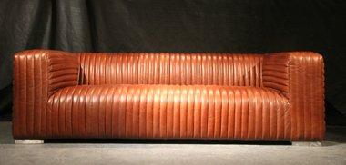 Designsofa Lamberton 3-Sitzer Vintage-Leder bestellen