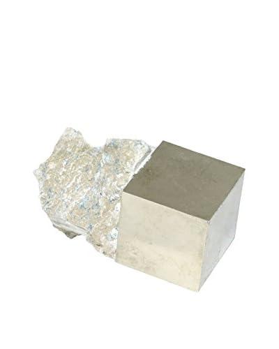 Uptown Down Natural Pyrite Specimen