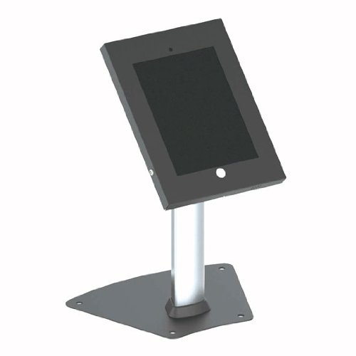 Pyle PSPADLK12 Tamper-Proof Anti-Theft iPad Kiosk Safe Security Desk Table Stand, Holder, Public Display Case with Cable Management for iPads 2/3/4 (Display Table Case compare prices)