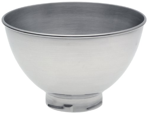 KitchenAid KB3SS 3-Quart Stainless Steel Bowl for Pivot Head Stand Mixers