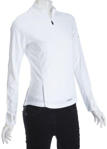 Berghaus Women's Active Longsleeve Zip Neck Baselayer Close Fit T-Shirt