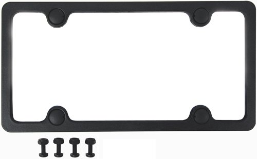 Custom Accessories 92502 Sport License Plate Frame with Fasteners (Farm License Plate Frame compare prices)