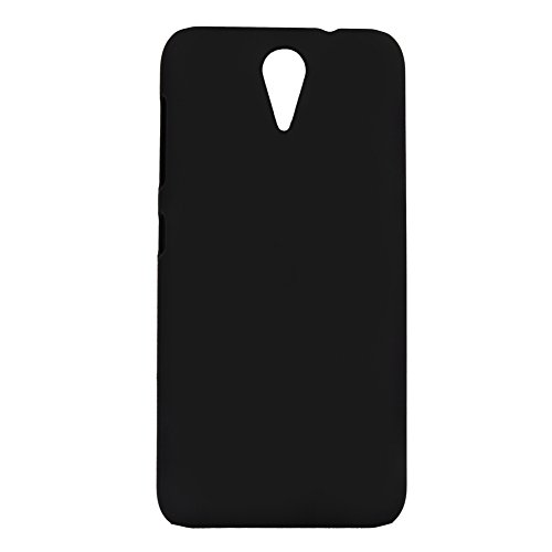 CUBIX Ultra Thin Rubberized Matte Hard Case Back Cover for HTC Desire 620G Dual Sim (Black)