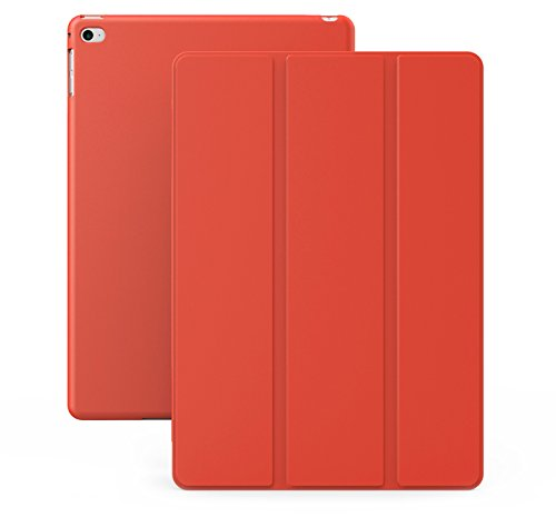iPad Air 2 Case (iPad 6) - KHOMO DUAL Super Slim Red Cover with Rubberized back and Smart Feature (Built-in magnet for sleep / wake feature) For Apple iPad Air 2 Tablet (Ipad Air 2 Khomo Dual compare prices)
