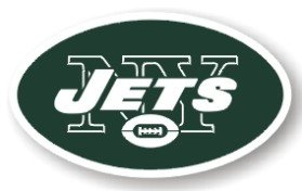 "New York Jets 12"" Logo Car Magnet Catalog Category: NFL at Amazon.com"