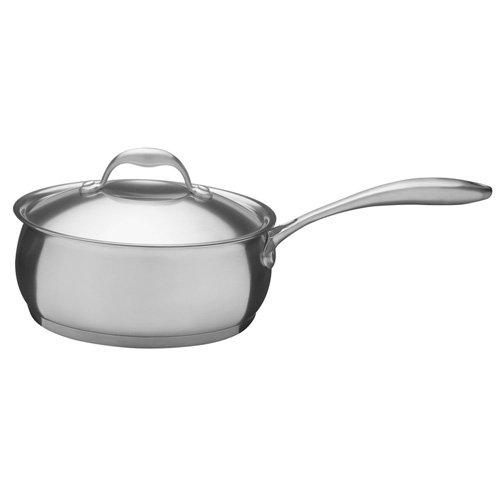 TRAMONTINA 18-10ステンレス 3層構造 片手鍋(ソースパン) 16cm(2.3L) ベガ