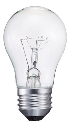 Philips 416768 Clear Appliance 40-Watt A15 Light Bulb (Philips 40w Appliance Bulb compare prices)