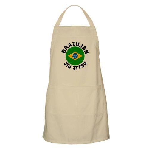 Cafepress Brazilian Jiu-Jitsu BBQ Apron - Standard Khaki