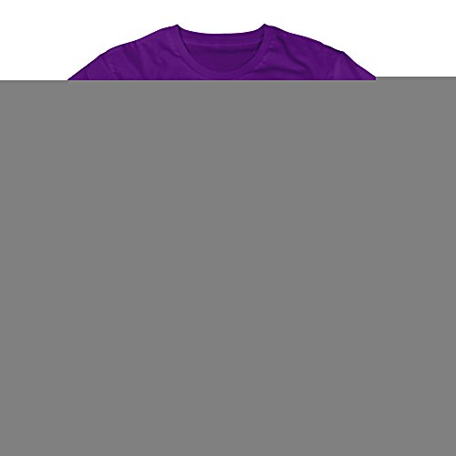 Men's Bear Skull Short-Sleeve T-shirt Purple S (Urns With Navy Emblem compare prices)