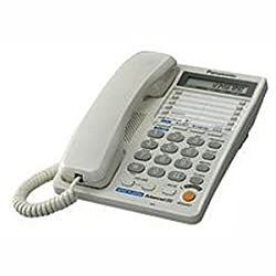Panasonic Two line KX-T2378MXWD Corded Telephone (White)