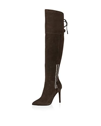 Dolce Vita Women's Inara Over the Knee Boot  [Anthracite Suede]