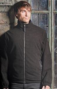 Stormtech SX-2 Mens Chinook Fleece Full Zip Shell Jacket Black/Smoke L