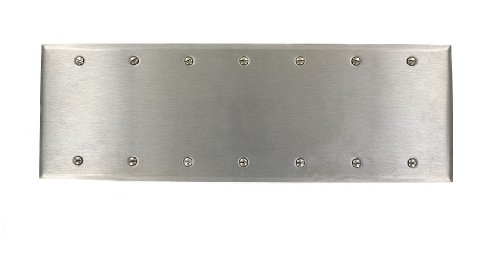 leviton-84067-40-7-gang-no-device-blank-wallplate-standard-size-box-mount-stainless-steel-by-leviton