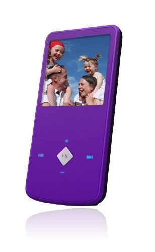 Ematic EM164VIDPR 1.5-Inch 4 GB MP3 Video Player (Purple)