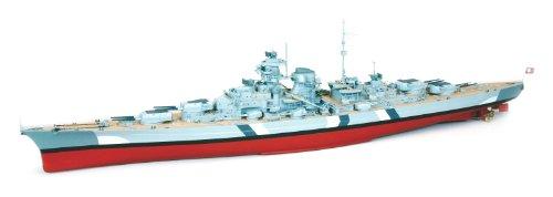 Graupner-2089-WP-Bismarck-Schlachtschiff-Masstab-1150
