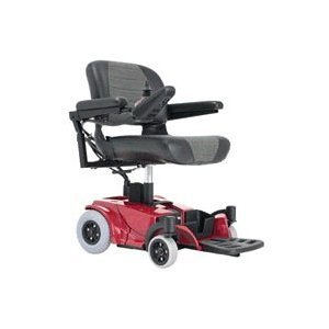 Pride Go Chair Portable Electric Wheelchair In Red