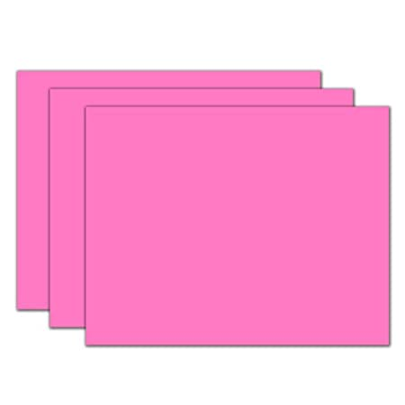 roselle poster board 22 28 pink 04113 best sellers business