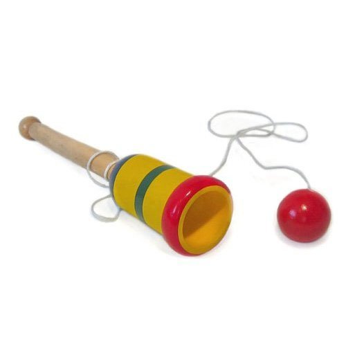 Cup and Ball Traditional Wooden Toy