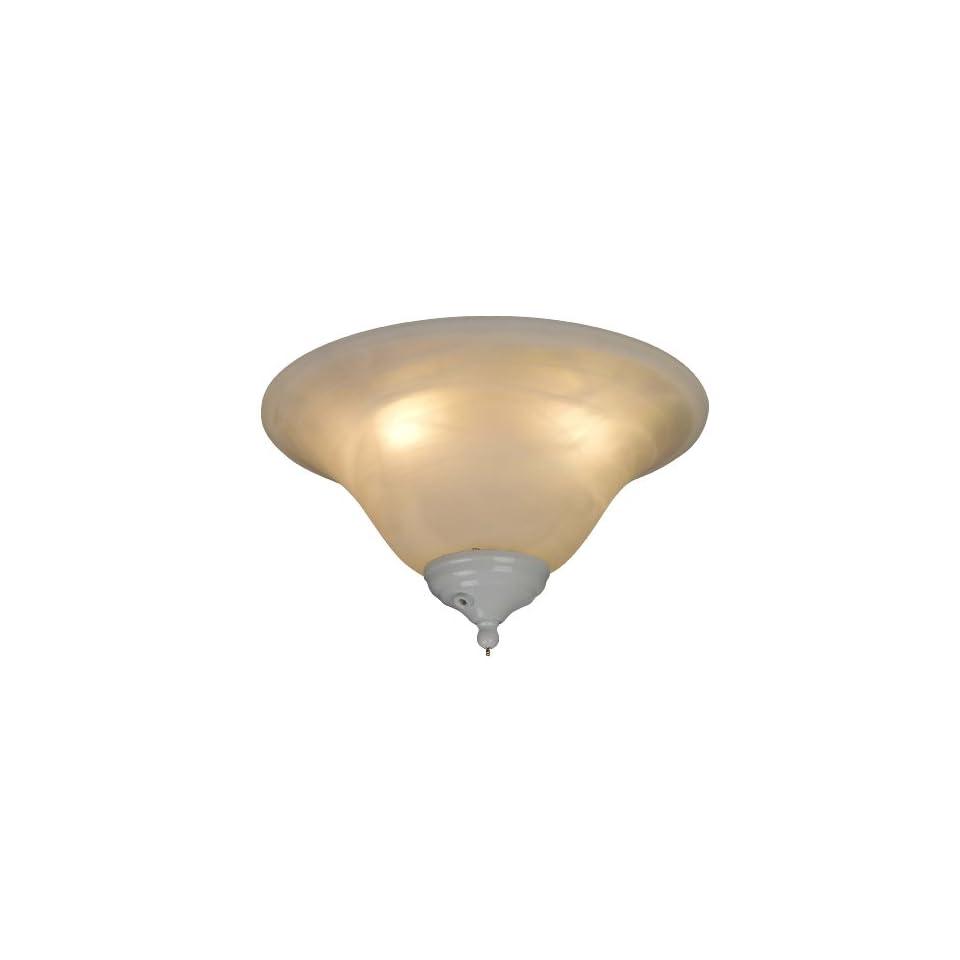 Yosemite Home Decor F LK106M Fluorescent Light Kit for Builder Ceiling Fans, All Finishes Included