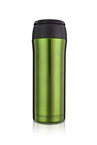 Highwave JOEmo 13oz Vacuum Stainless Steel Travel Mug Color Green (Joemo Travel Mug Lid compare prices)