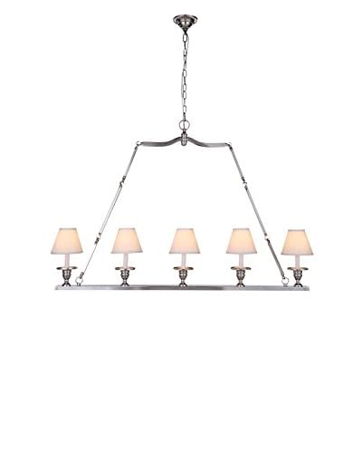 Urban Lights Baldwin 5-Light Chandelier, Antique Bronze