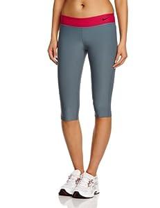 Nike Girl's Legend Tight Capri 3/4 Length Pant - Black/Black/Cool Grey, Medium (Old Version)