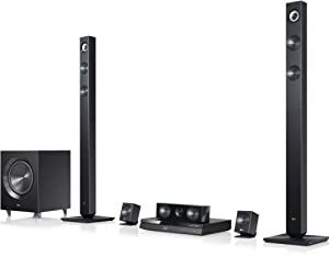 LG BH7420P 3D-Blu-ray 5.1 Heimkinosystem (1100 Watt, WLAN, Smart-TV, Dockingstation, DLNA, 2x HDMI-IN) schwarz