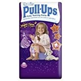 Pull Ups Night Time Girl Large - 12 Pants