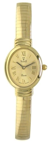 Vicence 14K Solid Gold Womens Watch - WSP375