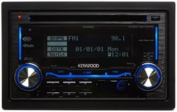 Kenwood Dpx303 Dual-Din Aac/Wma/Mp3 Cd Receiver With External Media Control